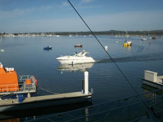 RNLI College: view from room