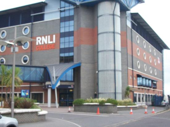 RNLI College: front of RNLI