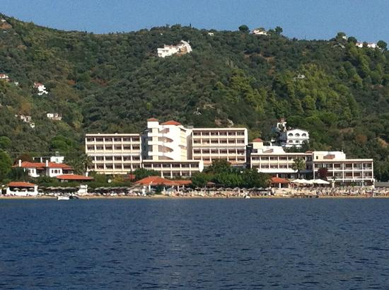 Marialena Village Apartments: Another shot from the Water Taxi