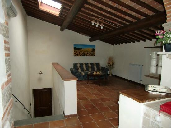Erboli Residence: Salottino e ingresso - App. Beatrice