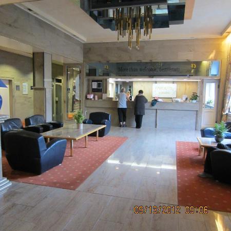 PK Parkhotel Kurhaus: reception area