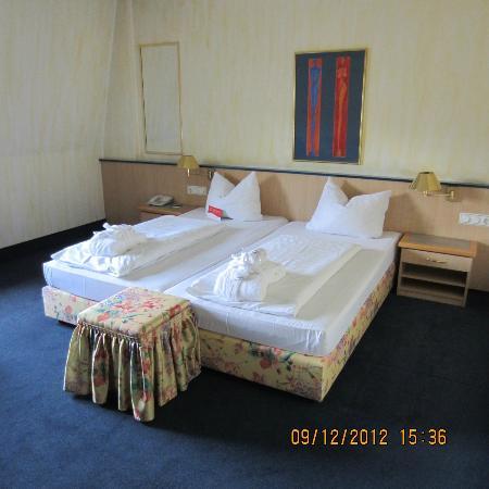 PK Parkhotel Kurhaus: comfy beds