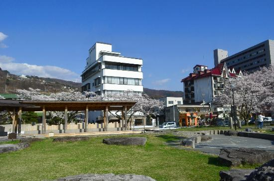 Suwa City Kohan Park: 足湯