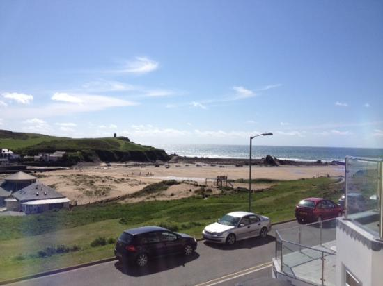The Beach at Bude: View
