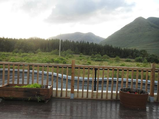 Delphi Adventure Resort: View from restaurant and dining deck