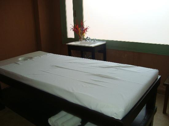 Las Marías Hotel Boutique: Sala de masajes