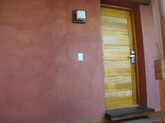 Las Marias Hotel Boutique: Puerta de Habitacion
