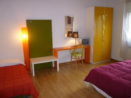 Lucca in Villa San Marco: Camera da letto appartamento Rosso