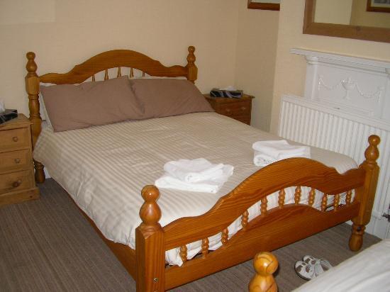 Chandos Premier Guest House: Quite hard!