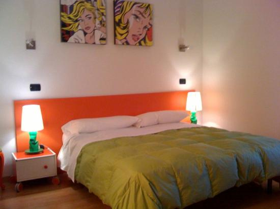 Lucca in Villa San Marco: Camera da letto appartamento Verde