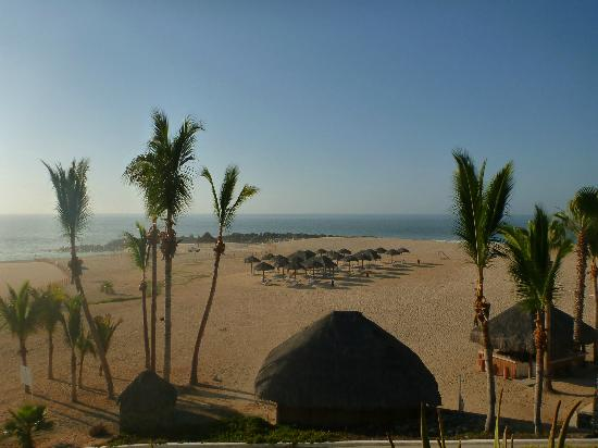 Paradisus Los Cabos: View from LaPalapa, outdoor/poolside dining at breakfast.