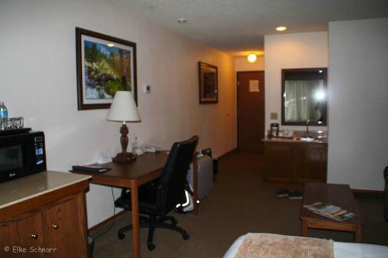 Radisson Hotel Colorado Springs Airport : Zimmer
