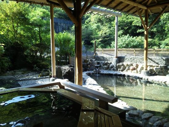 Hotel Okuyumoto: 大浴場(露天風呂)