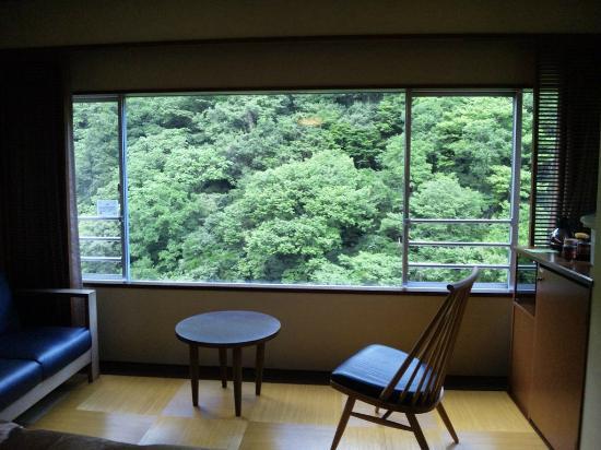 Hotel Okuyumoto: すくも亭(眺望)
