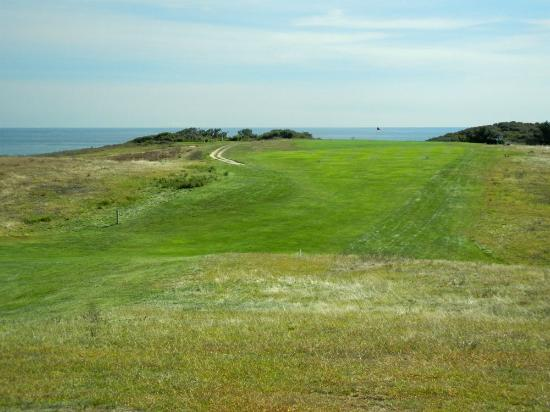Highland Golf Links: Highland Links looking toward the green closest to the ocean. Nearest drop is Portugal.