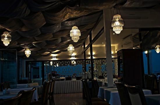 Ottoman Hotel Park: Hotel Rooftop Restaurant
