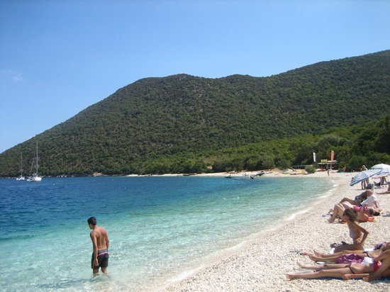 Sami, Greece: Antisamos beach