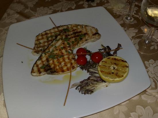 Hotel Rea: pesce spada alla griglio