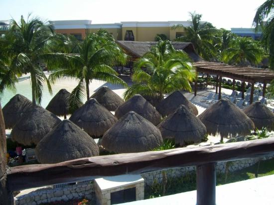 Iberostar Paraiso Lindo : View from Balcony room Block 54