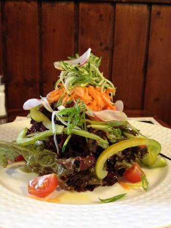 Relais de Chavannes: Salade mêlée du moment
