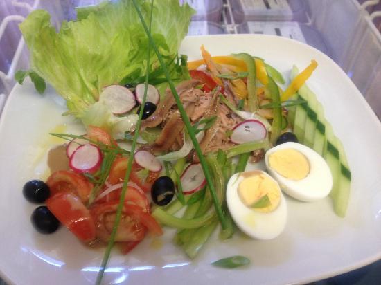 Relais de Chavannes : Salade Niçoise