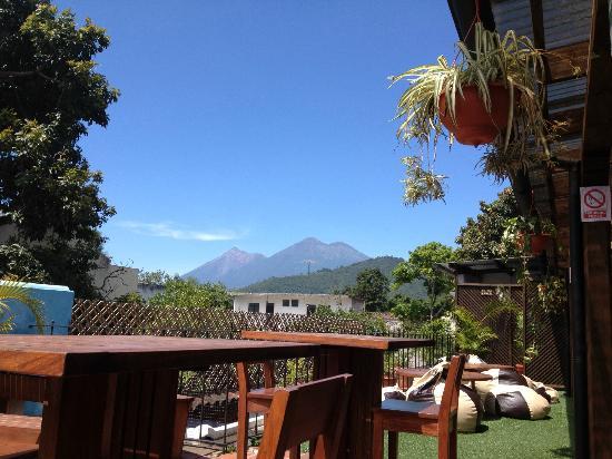 Luna de Miel: Our volcanoes view...