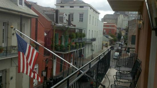 Dauphine Orleans Hotel: balcony view