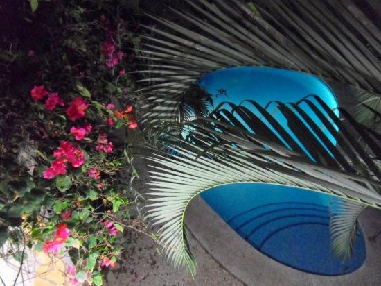 Hotel Giada: Zwembad vanaf het balkon