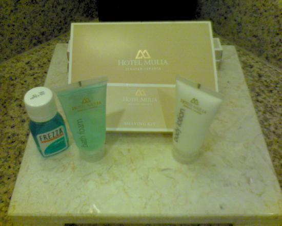 Hotel Mulia Senayan, Jakarta: Toiletries