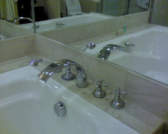 Hotel Mulia Senayan, Jakarta: Bath tub