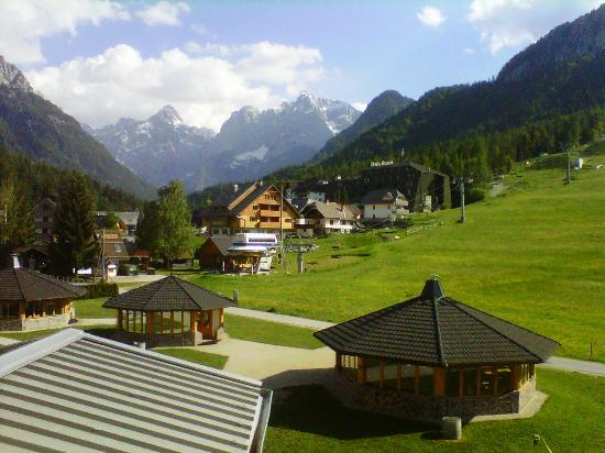 Ramada Resort Kranjska Gora: summer view from a piste view room