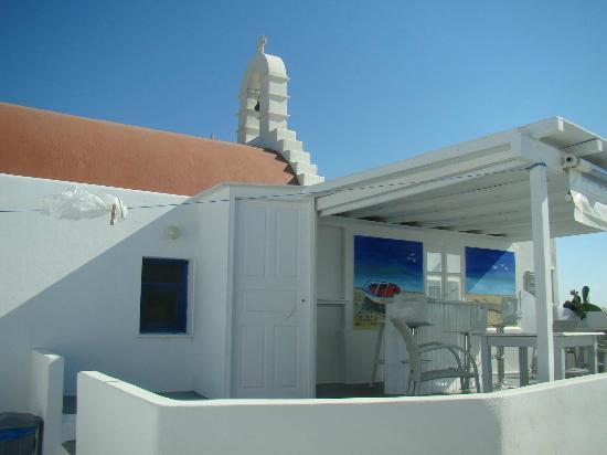 Milena Hotel: Hotel bar & relax area