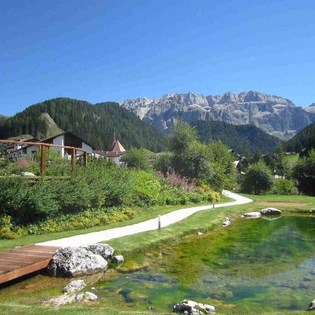 Gran Baita Sport & Wellness Hotel: Panorama e parco dell'hotel