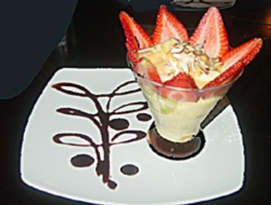 Oriental Grill: Excellent ice cream dessert