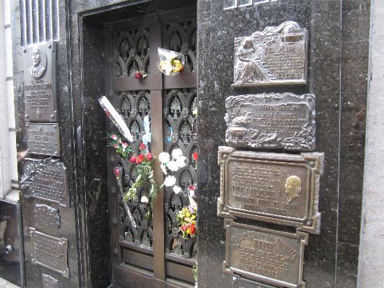 BuenosTours: Evita Peron Tomb at Recoleta Cemetery