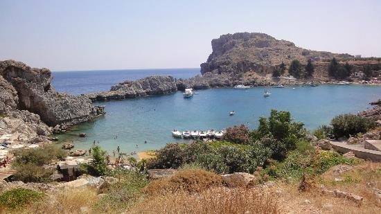 Agios Pavlos Beach (Saint Paul): baia