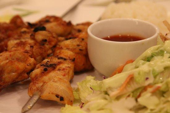 Cappadocia Turkish Kebap House: Skew Chicken.. Marvelous