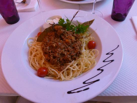 Vin Coeur: Spaghetti Bolognese