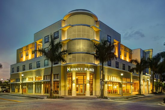Hyatt place delray beach wedding