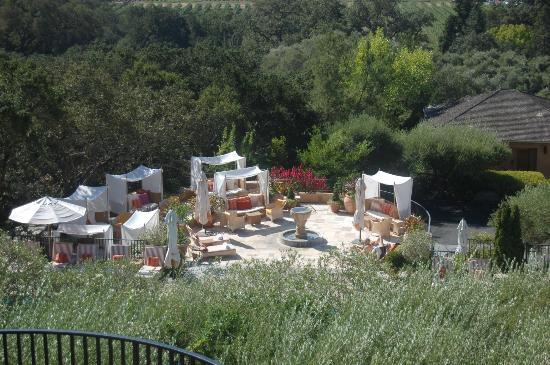 Auberge du Soleil: Pool/sun deck area