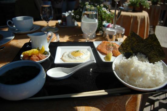 Auberge du Soleil: Japanese breakfast