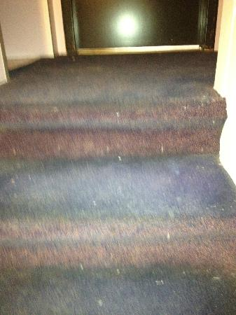 Le Centenaire: Not very clean staircase