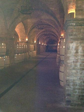 Castello di Amorosa: More Wine barrels, beautiful architecture