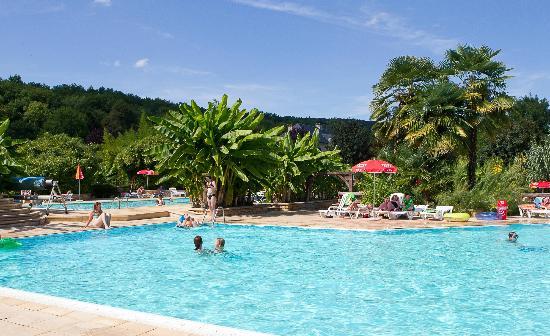 Camping le Paradis: Les piscines