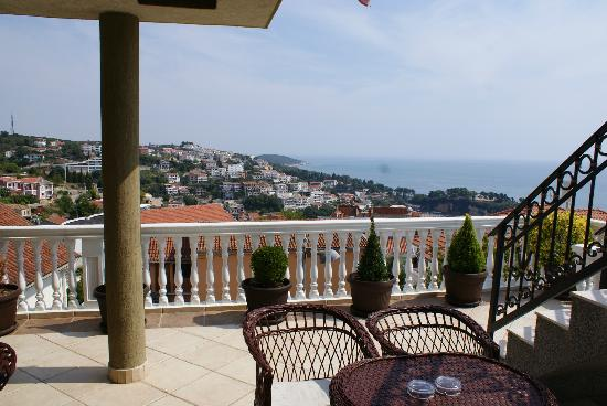 Apartments Tati: The amazing view from the terrace