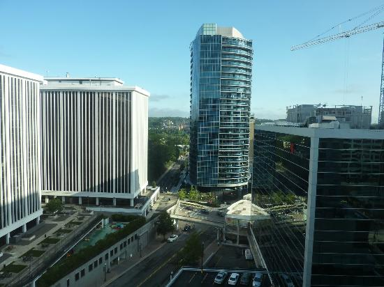 Hyatt Arlington: View from the back of the hotel, 11th floor.