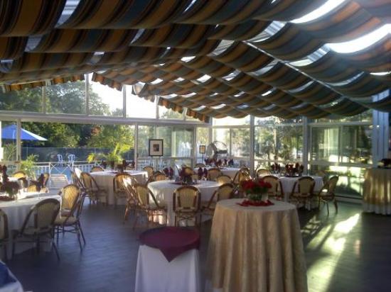 The Norwalk Inn & Conference Center: the garden