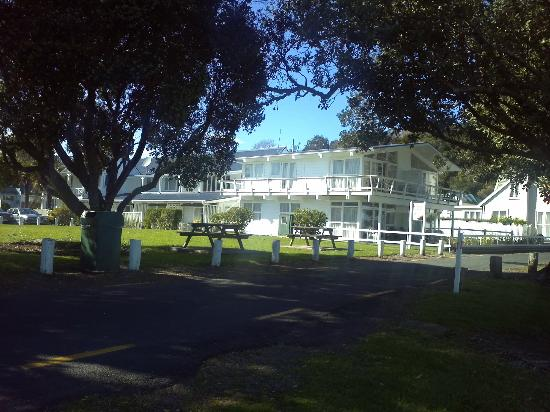 Hananui Lodge Motel: Extremely well positioned