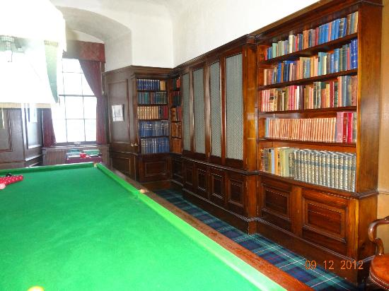 Castle Stuart: Billiards Room