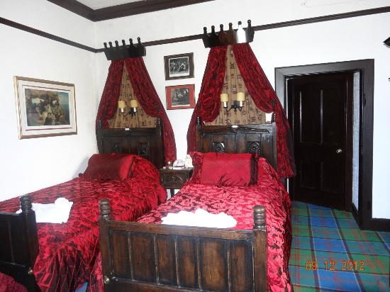 Castle Stuart: Bedroom